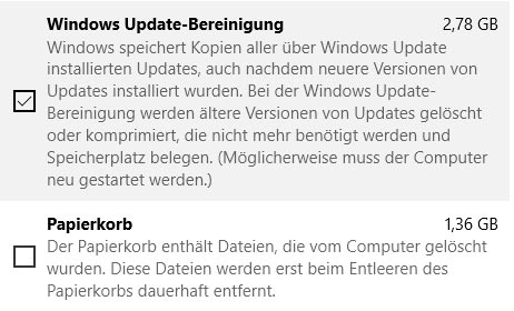 Windows Update Bereinigung